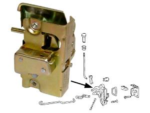 Mécanismes de portes avant