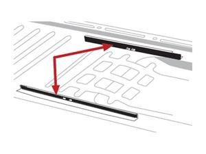 Rails et supports de sièges