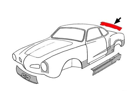 Karmann Ghia Body Sheetmetal Vw Classic Store