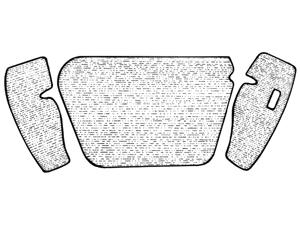 Moquettes de coffre avant
