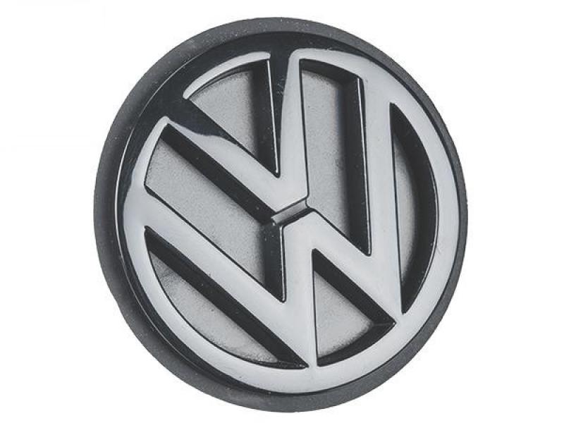 logo vw arri re noir volkswagen classic pour cox combi karmann et d riv s volkswagen slide. Black Bedroom Furniture Sets. Home Design Ideas