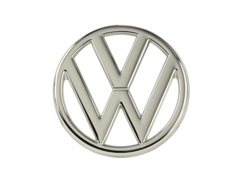 logo vw sur calandre chrome volkswagen classic pour