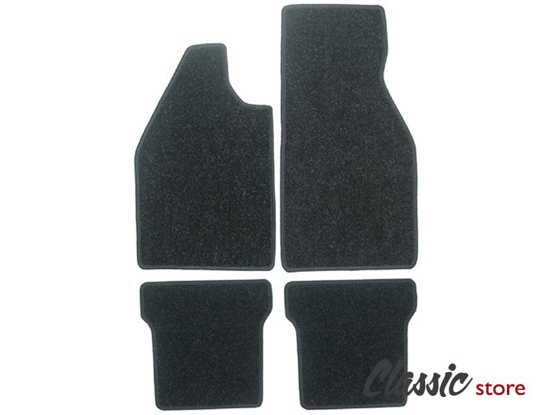 tapis de sol noir moquette pour cox combi karmann et d riv s volkswagen slide performance. Black Bedroom Furniture Sets. Home Design Ideas