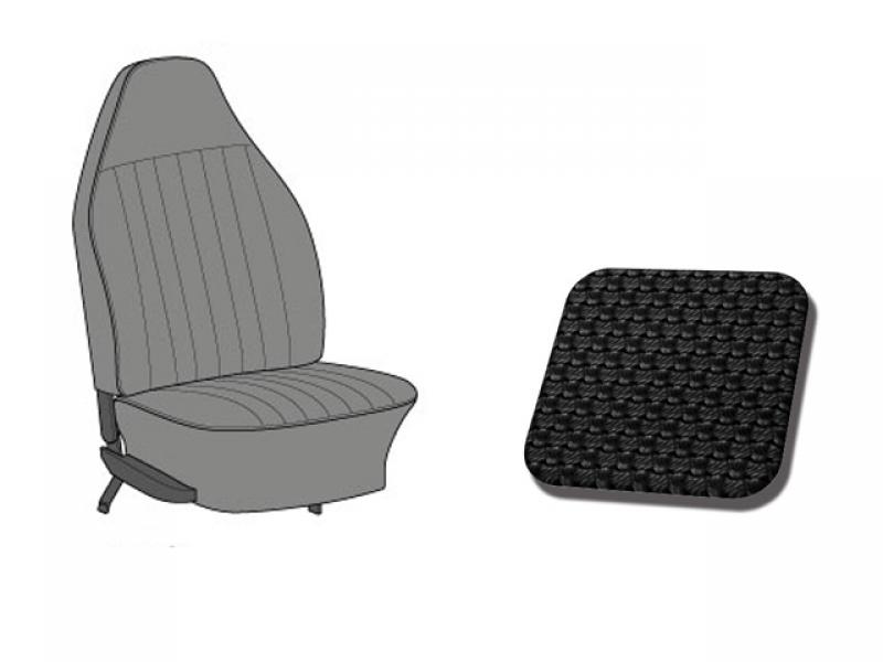 housses de si ges cabriolet tmi 1973 noir pour cox combi. Black Bedroom Furniture Sets. Home Design Ideas
