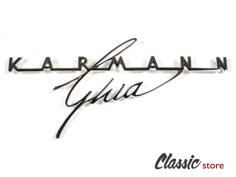 logo karmann ghia de capot arri u00e8re 1964
