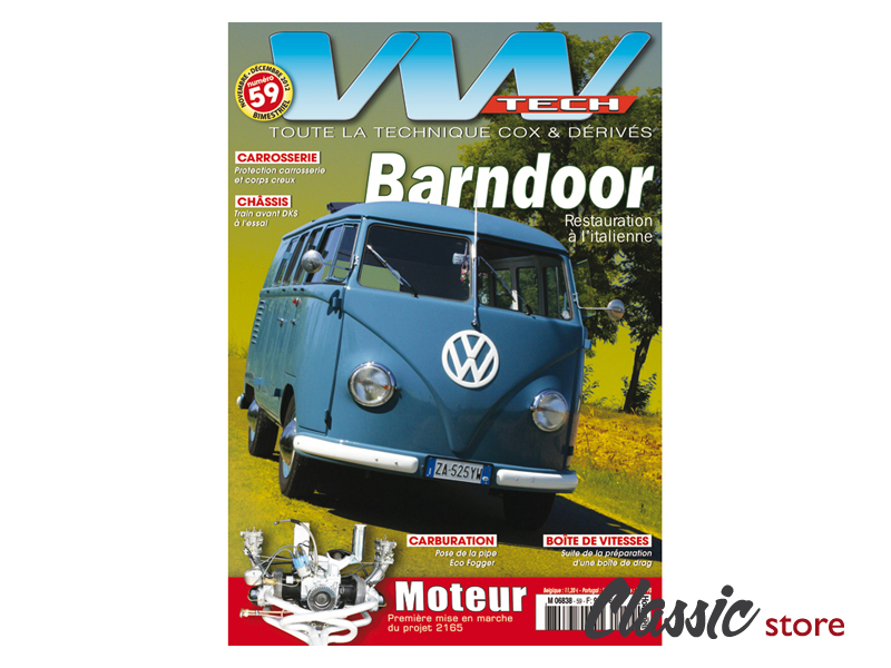 Magazine Vw Tech N U00b059 Pour Cox Combi Karmann Et D U00e9riv U00e8s