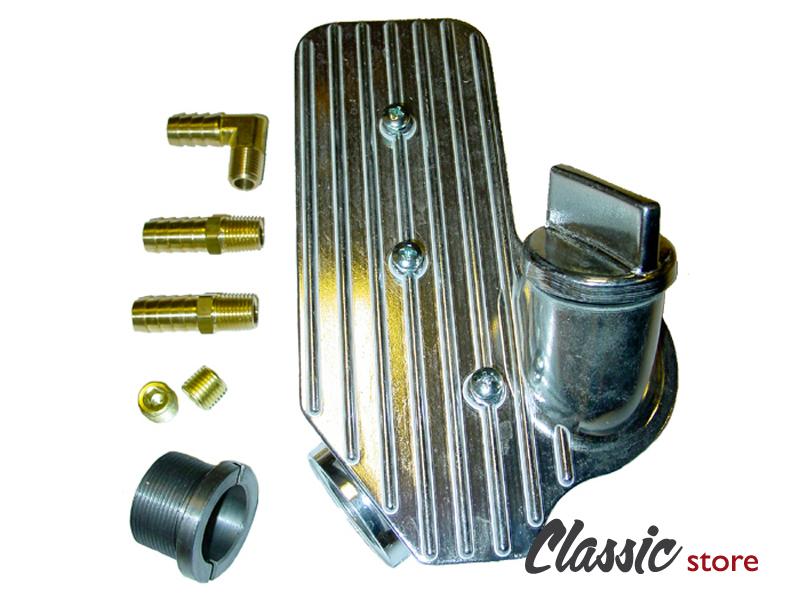 Oil Filler Breather Box Aluminium Cb Performance