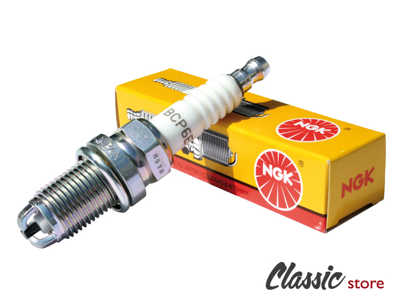 spark plug ngk bcp6et 14 mm long reach 3 projected electrodes vw aircooled beetle vw bus