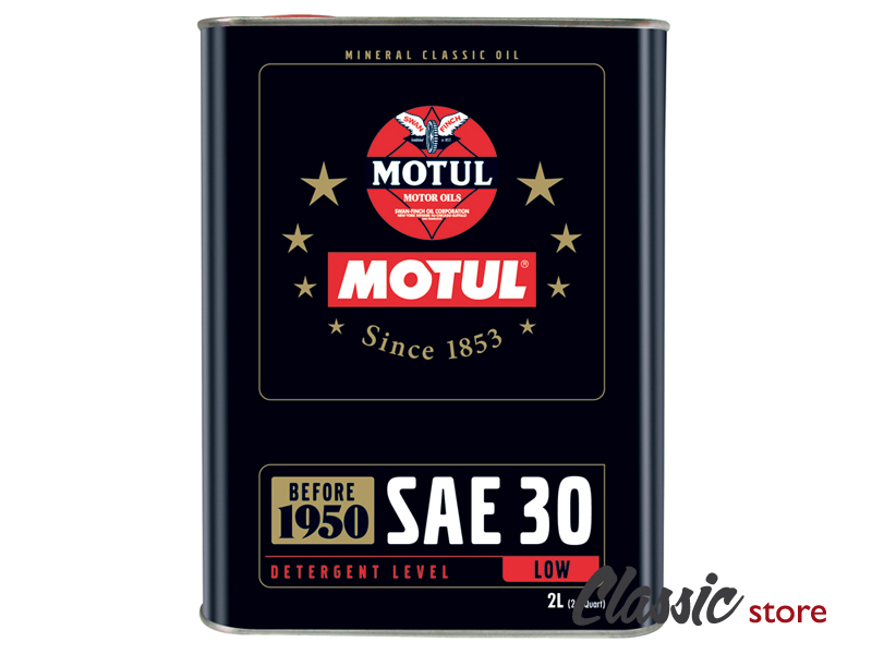 huile motul classic sae 30 2 litres pour cox combi karmann et d riv s volkswagen slide. Black Bedroom Furniture Sets. Home Design Ideas