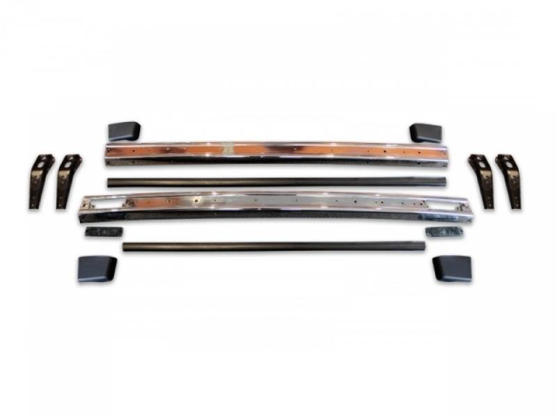 Metal Bumper Kit : Kit metal bumper chrome hq vw youngtimers rabbit