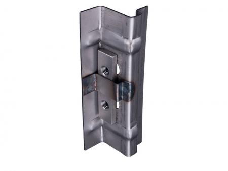 B-post cargo door hinge bracket lower - 1950-1967 - HQ