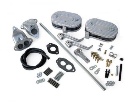 Air filter linkage kit - CB for ICT - small filter - dual port manifolds