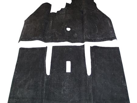 Tapis caoutchouc 1968-1972 - noir (1200-1300-1302)