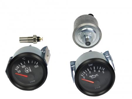 Oil temperature gauge - VDO - 50-150°C - 52 mm diameter