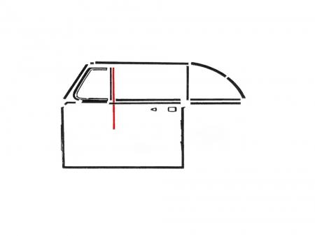 Petit coulisseau vertical 1952-1979 - cabriolet