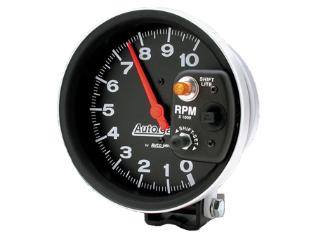 Tachometer Autogage 125 mm - 10000 RPM - shift light internal