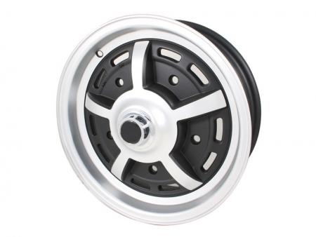 Jante SPRINTSTAR - aluminium - 5x205 - 5x15 - Noire Mate et satin - ET20 - SSP