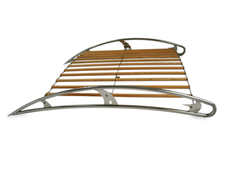 Roof Rack Stainless Steel Amp Wood Airstream Flat 4