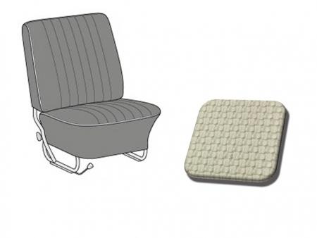 Seat covers - convertible TMI 1965-1967 - Light Grey
