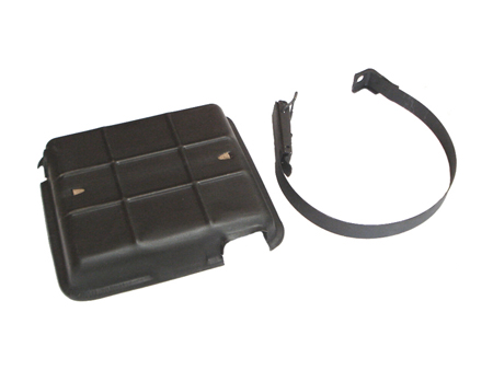 6 volts battery fixing kit - on chassis