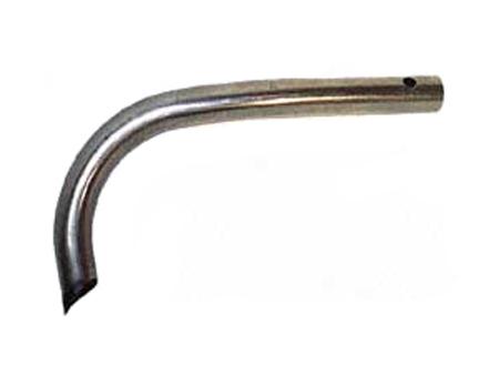 Barre de pare-choc arrière 1959-1967 - G - Wolfsbur West