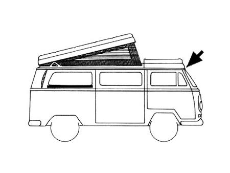 Joint de toit fixe Westfalia 1974-1991 - WCM