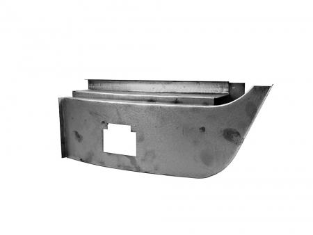 Dogleg repair panel - complete - 1950-1967 - L
