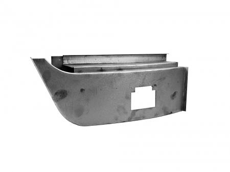 Dogleg repair panel - complete - 1950-1967 - R