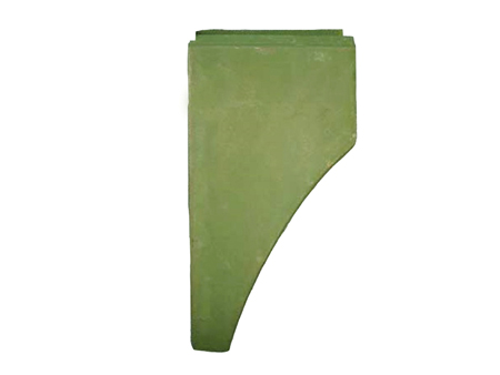 Front fender bottom behind the wheel 1963-1967 - R - KF