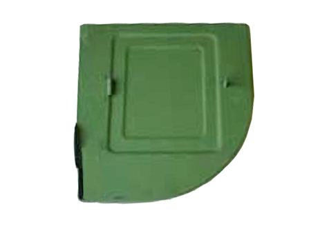 Right side battery plate 1956-1965 - KF