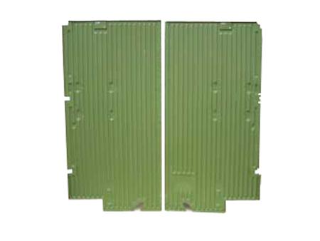 Cargo floor - complete - 1956-1966 - simple side door - panel van - KF