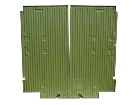 Cargo floor - complete - simple cab 1955-1966 - simple cargo door - KF