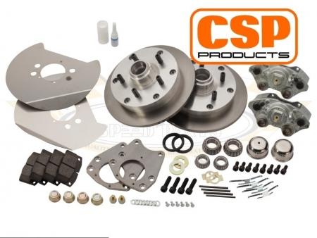 Front disc brake kit - 5x130 1964-1970 - CSP