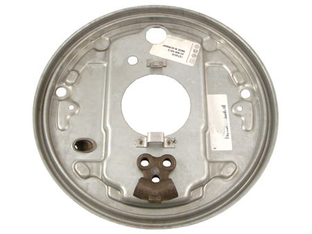 Backing plate - rear - 1980-1991 - L