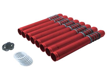 Tubes enveloppes - réglables - JayCee - rouge