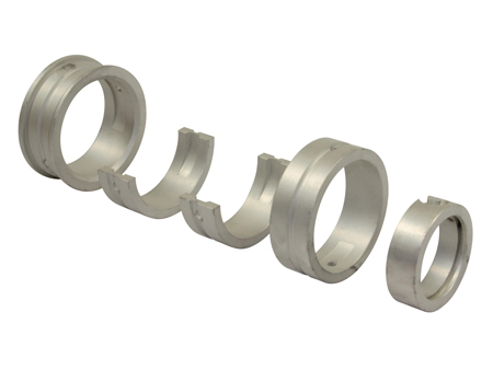 Main bearing kit - STD case - 0.50 crank - 24 - 30hp - Sintermetal
