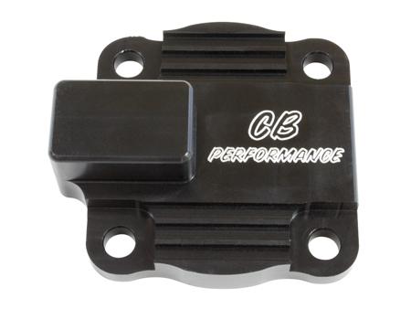 Couvercle pompe à huile avec sortie Full Flow - CB performance - noir