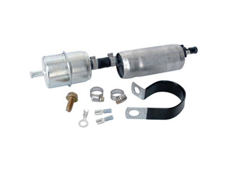 Fuel pump - electrical - auto regulation & rotary