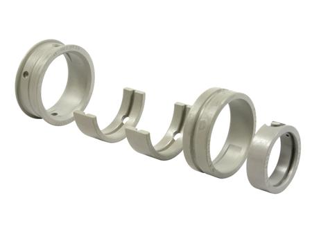 Main bearing kit - 0.50 case - 0.50 crank - 22 - T1 - Mahle - KS