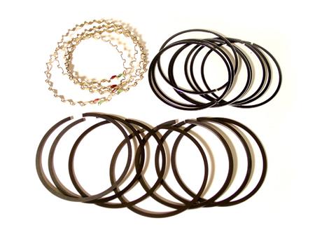 Piston ring set - 77 mm - 2/2/4