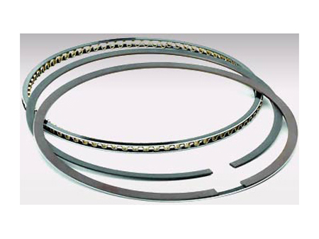 Piston ring set - 87 mm - Total seal