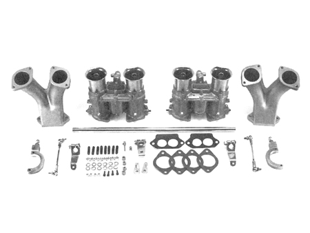 Kit - carburetors - 48 mm - IDA - Weber