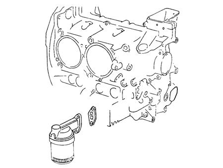 Joint de support de filtre à huile - T4