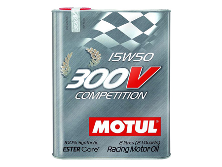 Oil - MOTUL 300V Competition - 15W50 - 2 liters