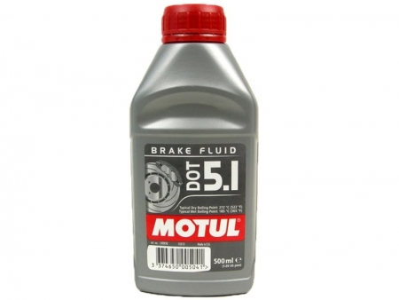 Brake fluid - MOTUL - DOT 5.1 - 500ml.