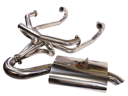 Exhaust - Merged Mondo Muffler - Stainless steel SSP