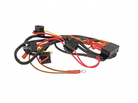 Headlight upgrade wiring harness