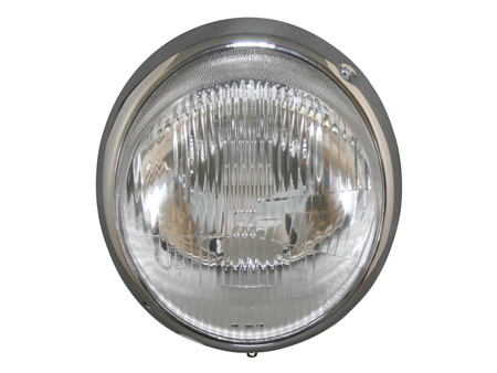 Headlight - with ring - chrome