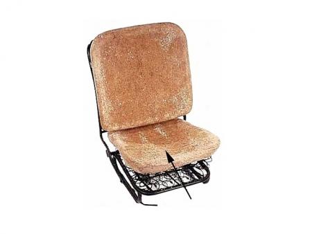 Paille de réparation d'assise de siège avant 1955-1967