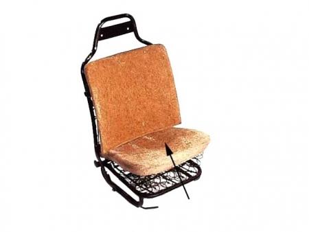 Paille de réparation d'assise de siège avant 1968-1972